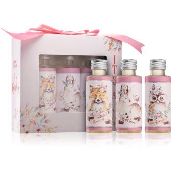 Bohemia Gifts & Cosmetics Its A Girl set cadou (pentru nou-nascuti si copii) pentru copii