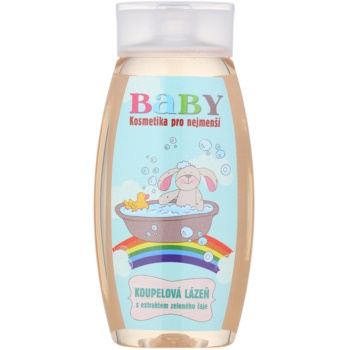 Bohemia Gifts & Cosmetics Baby Baie cu extract de ceai verde
