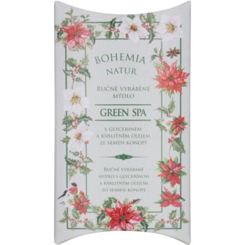 Bohemia Gifts & Cosmetics Green Spa крем сапун с глицерин 1