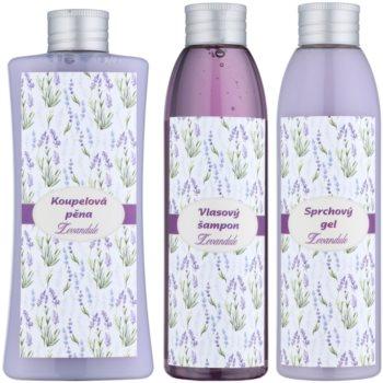 Bohemia Gifts & Cosmetics Lavender Kosmetik-Set  V. 1