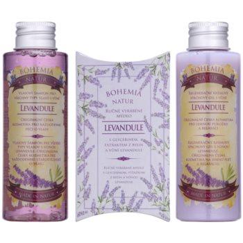Bohemia Gifts & Cosmetics Lavender козметичен пакет  VIII. 1