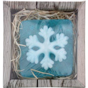 Bohemia Gifts & Cosmetics Snowflake ръчно произведен сапун с глицерин 1