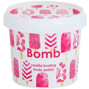 Bomb Cosmetics Vanilla Frosting telový peeling