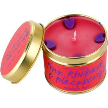 Bomb Cosmetics Pink Phubarb & Blackberry Duftkerze