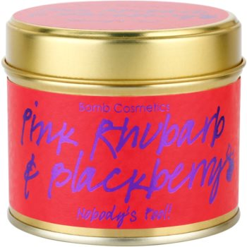 Bomb Cosmetics Pink Phubarb & Blackberry Duftkerze 1