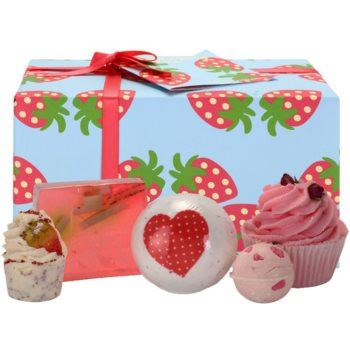 Bomb Cosmetics Strawberry Patch Kosmetik-Set  I.