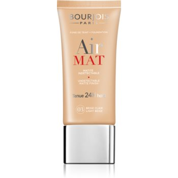 Bourjois Air Mat matující make-up odstín 03 Light Beige 30 ml