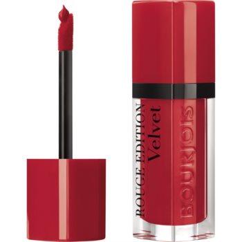 Bourjois Rouge Edition Velvet ruj de buze lichid cu efect matifiant poza noua