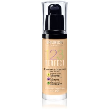 Bourjois 123 Perfect fond de ten lichid pentru look perfect imagine produs