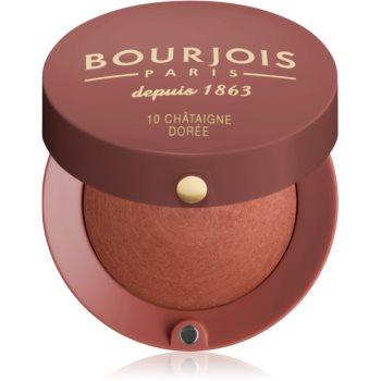 Fotografie Bourjois Blush tvářenka odstín 10 Chataigne Doree 2,5 g