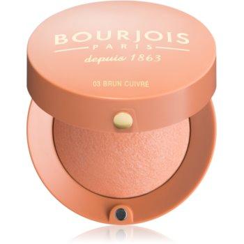 Fotografie Bourjois Blush tvářenka odstín 03 Brun Cuivre 2,5 g