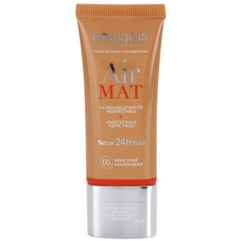 Bourjois Air Mat matující make-up odstín 05 Golden Beige 30 ml