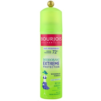 Bourjois Déodorant antitranspirante à prova d'água 72h