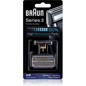 Braun Series 3 31S CombiPack Foil & Cutter benzi si lame de tăiere