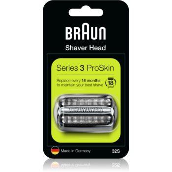 Braun Series 3 32S CombiPack Silver planžeta