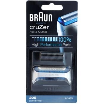 Fotografie Braun Series 1 20S CombiPack cruZer planžeta a stříhací lišta 2 ks