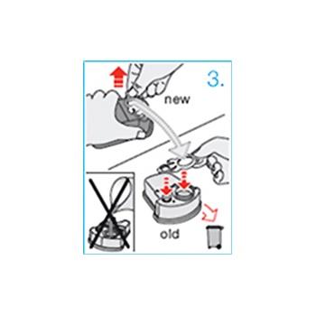Braun Series Clean&Renew CCR2 Ersatzfüllung für Reinigungsstation 2