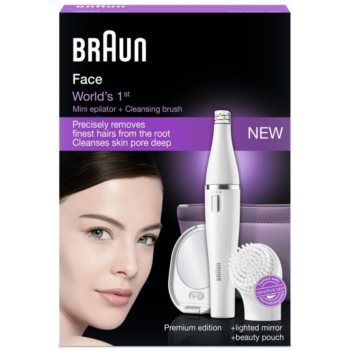 Braun Face  830 depiladora para rosto 9