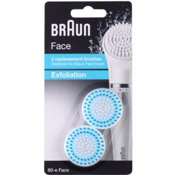 Braun Face  80-e Exfoliation náhradní hlavice 2 ks