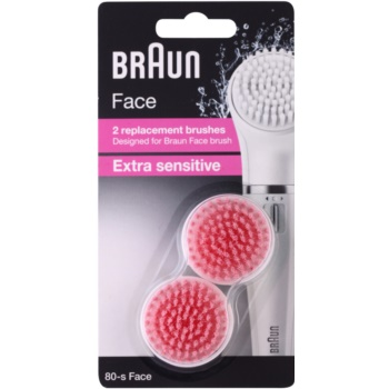 Fotografie Náhradní kartáček obličejový Braun Face 80S Sensitive