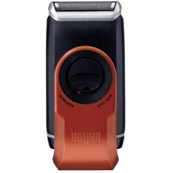 Braun MobileShave M-60r компактна бритва для подорожей червоний 2