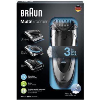Braun Multi Groomer MG5090 машинка за подстригване на коса и брада 3 в 1 2