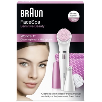 Braun Face  832s Sensitive Beauty Epilierer für das Gesicht 4