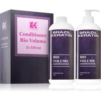 Brazil Keratin Bio Volume conditioner pentru volum (pentru par fin)
