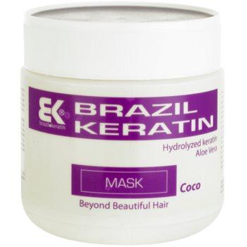 Brazil Keratin Coco keratinová maska pro poškozené vlasy 500 ml