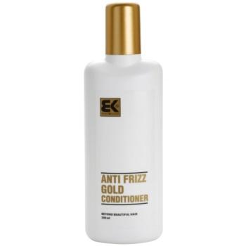 Fotografie Brazil Keratin Gold kondicionér s keratinem pro poškozené vlasy 300 ml