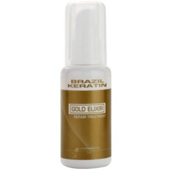 Fotografie Brazil Keratin Gold olejová péče pro výživu a hydrataci 50 ml