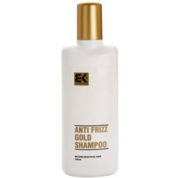 Fotografie Brazil Keratin Zlatý šampon pro poškozené vlasy (Shampoo Anti-Frizz Gold)