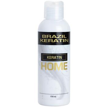 Fotografie Brazil Keratin Home vlasová kúra pro narovnání vlasů 150 ml