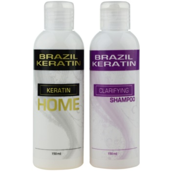 Brazil Keratin Home set de cosmetice I. (pentru par indisciplinat) pentru femei imagine produs