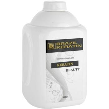 Fotografie Brazil Keratin Beauty Keratin regenerační kúra pro poškozené vlasy 500 ml