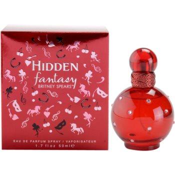 Britney Spears Hidden Fantasy Eau De Parfum pentru femei 50 ml