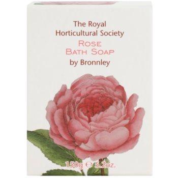 Bronnley Rose твърд сапун с масло от шеа 2