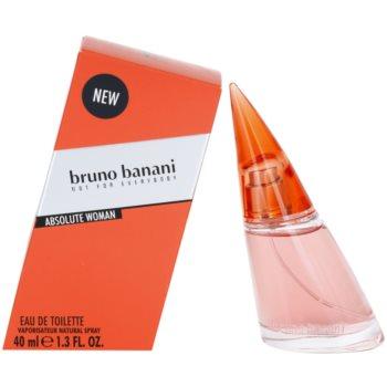 Bruno Banani Absolute Woman eau de toilette pentru femei 40 ml