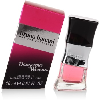 Bruno Banani Dangerous Woman Eau de Toilette pentru femei 20 ml