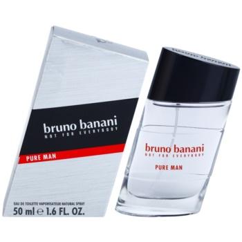 Bruno Banani Pure Man eau de toilette pentru barbati 50 ml