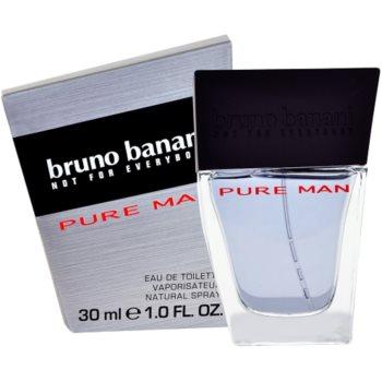 Bruno Banani Pure Man Eau de Toilette pentru barbati 30 ml