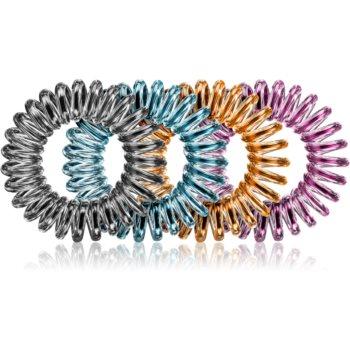 BrushArt Hair Rings Colour Elastice pentru par 4 pc imagine produs