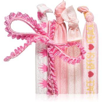 BrushArt KIDS Cute Pink Elastice pentru par imagine produs