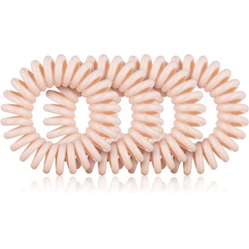 BrushArt Hair Rings cauciuc de păr transparent