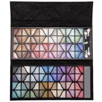 BrushArt Color paleta de sombras  com espelho pequeno