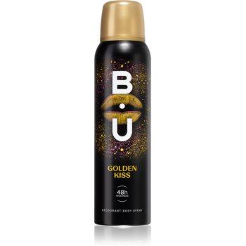 B.U. Golden Kiss deodorant spray pentru femei imagine