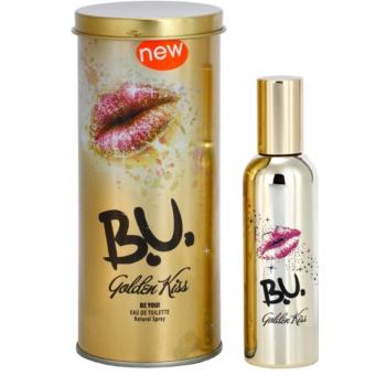 B.U. Golden Kiss eau de toilette pentru femei 50 ml