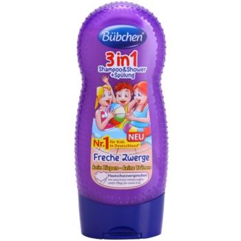 Bübchen Kids sampon, balsam si gel de dus 3in1 imagine produs