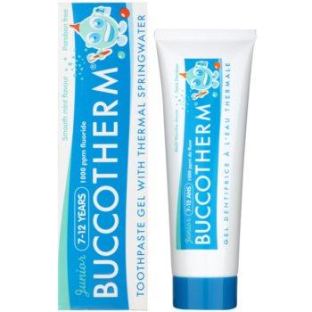 Buccotherm Junior pasta de dinti gel pentru copii cu apa termala 1