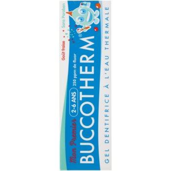 Buccotherm My First pasta de dinti gel pentru copii cu apa termala 2